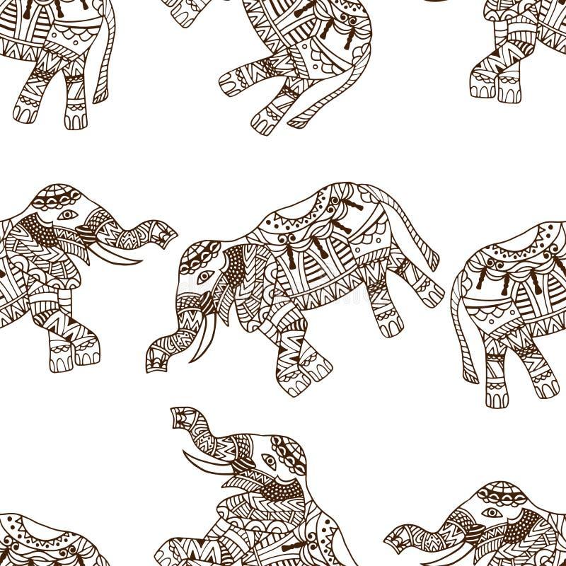 Fondo de los elefantes libre illustration