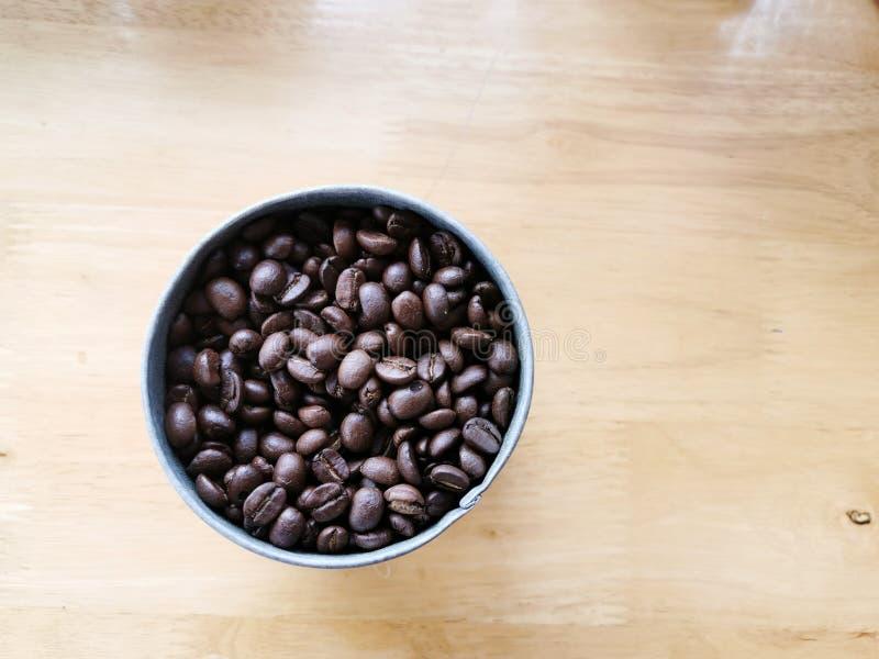 Fondo de los granos de caf? foto de archivo libre de regalías