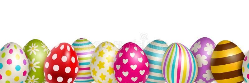 Fondo de los huevos de Pascua libre illustration