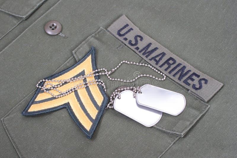 Fondo de los infantes de marina de los E.E.U.U. fotografía de archivo