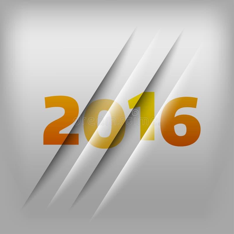 Fondo 2016 de los números libre illustration