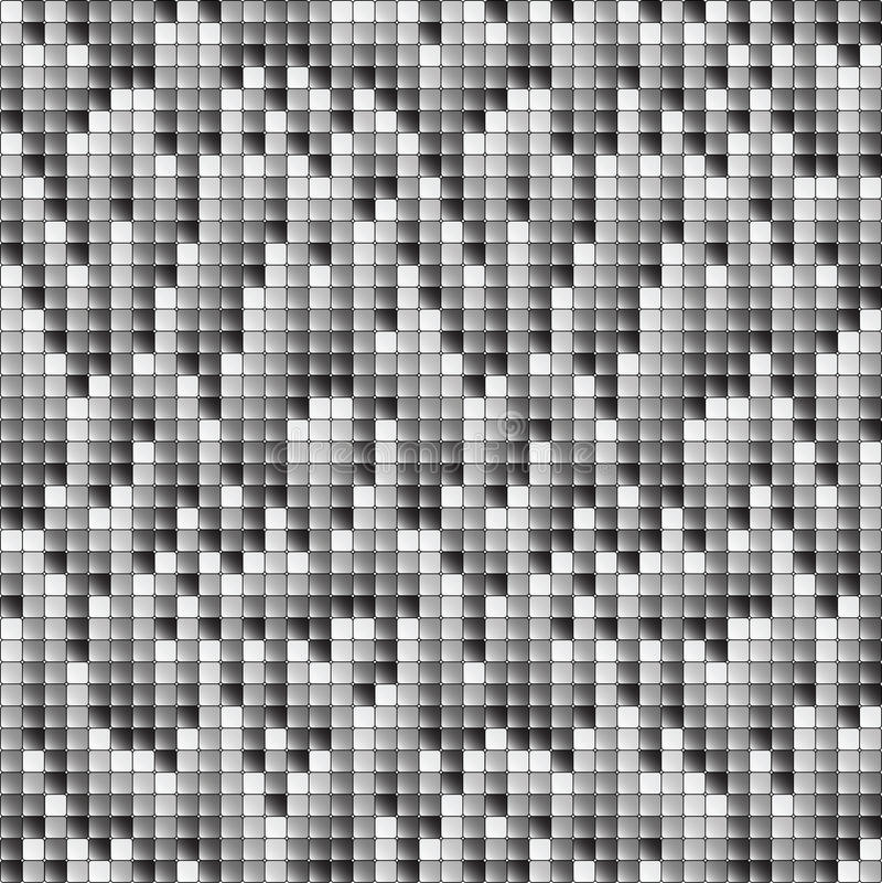 Fondo de los pixeles que cae ilustración del vector