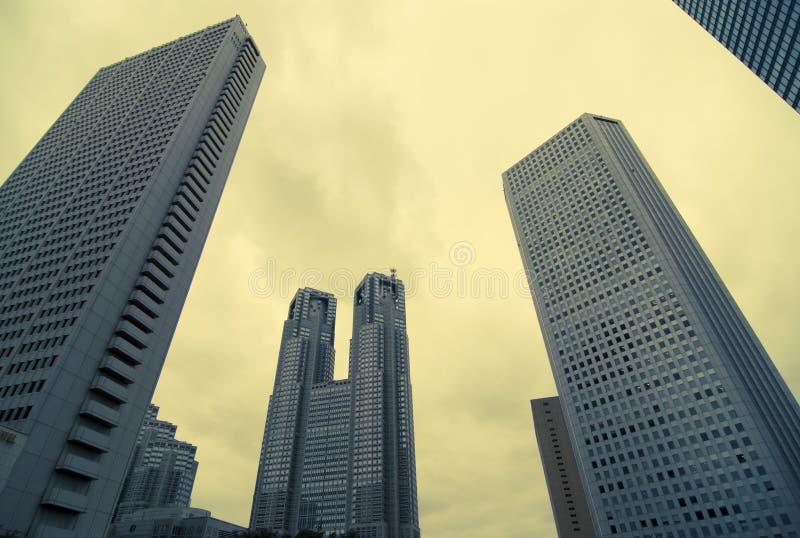 Fondo de los rascacielos imágenes de archivo libres de regalías