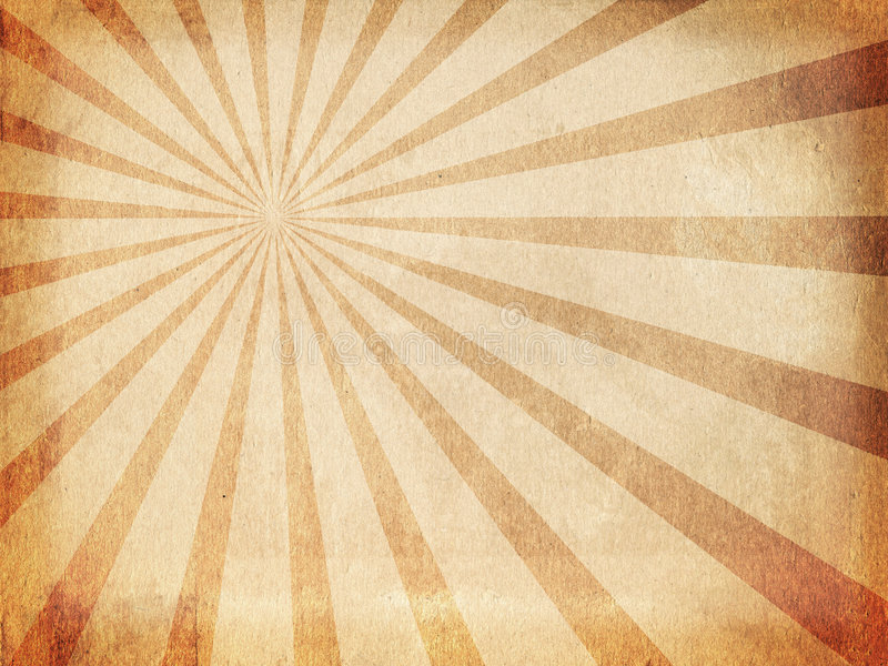 Fondo de los rayos de sol de la vendimia stock de ilustración