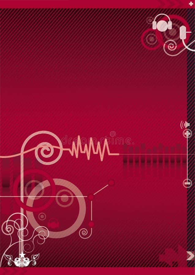 Fondo de los sonidos libre illustration