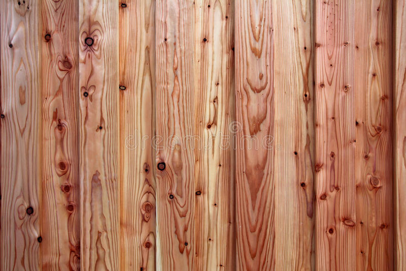 Fondo de los tablones de madera rustical del pino fotografía de archivo