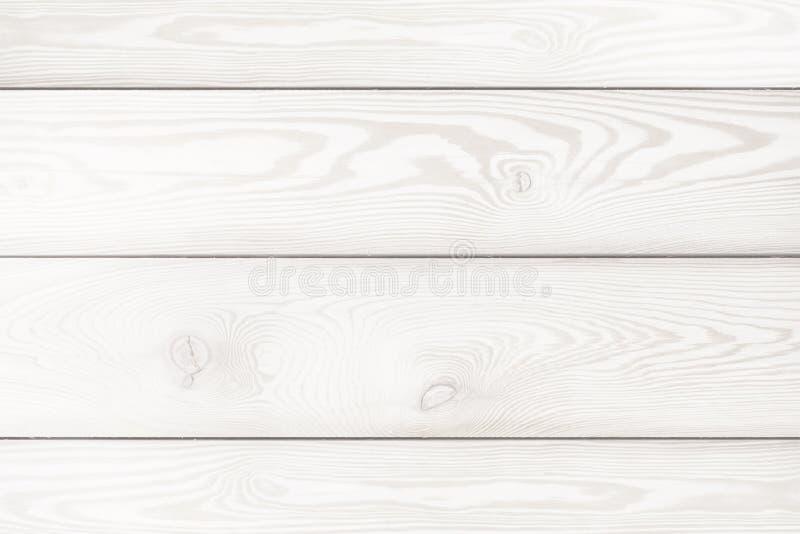 Fondo de los tablones de madera blancos Roble blanqueado Textura foto de archivo