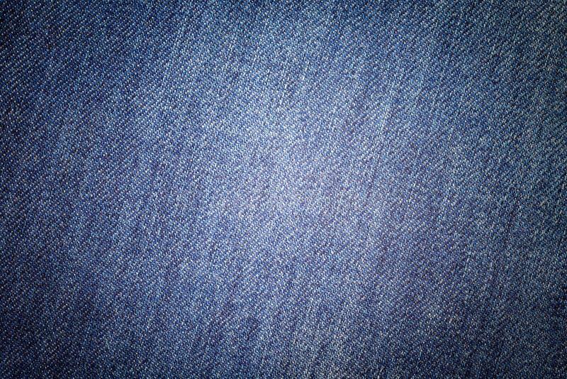 Fondo de los tejanos Textura cl?sica del dril de algod?n Superficie de la ropa de moda fotos de archivo libres de regalías