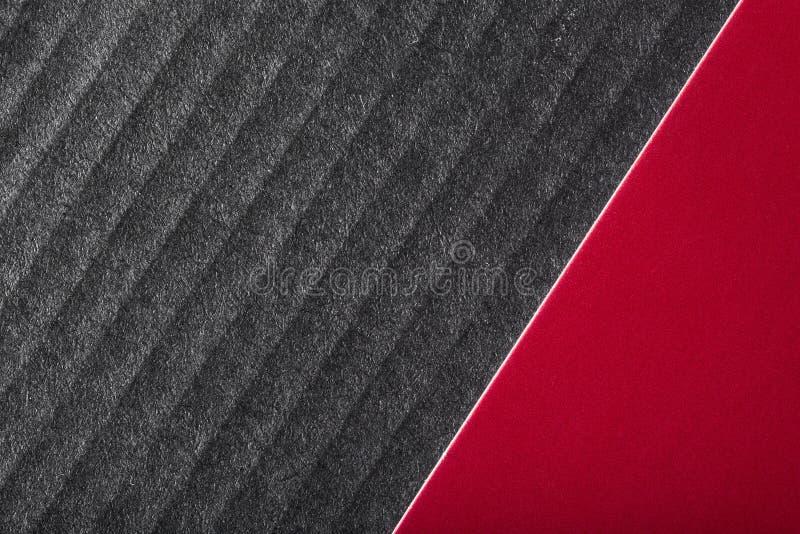 Fondo de lujo negro y rojo foto de archivo