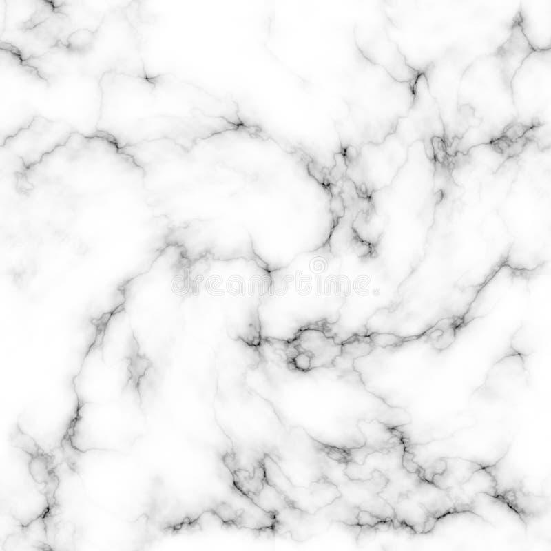Fondo de mármol abstracto blanco y negro de la textura stock de ilustración