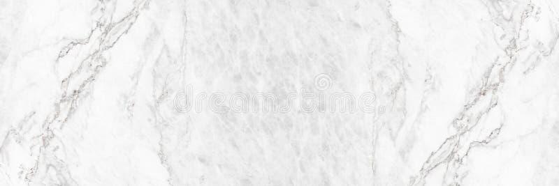 fondo de mármol blanco elegante horizontal del extracto de la textura imagen de archivo libre de regalías