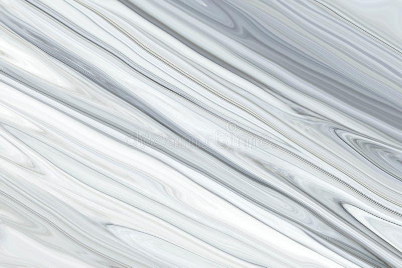 Fondo de mármol de la textura/fondo de mármol gris blanco del extracto de la textura del modelo ilustración del vector