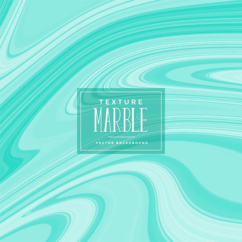 Fondo de mármol líquido de la textura del color de Torquoise libre illustration
