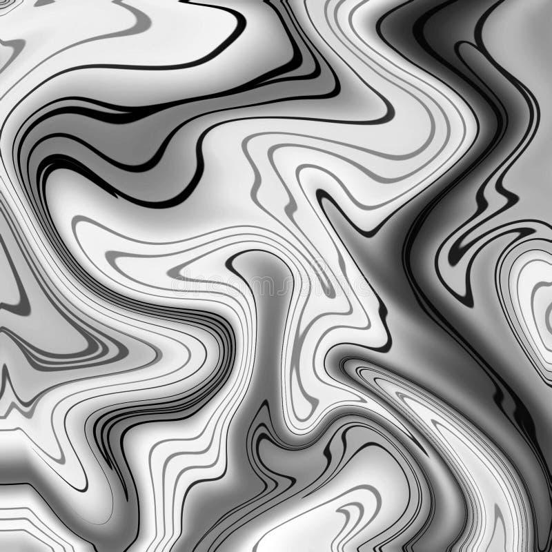 Fondo de m?rmol del oro ilustración del vector
