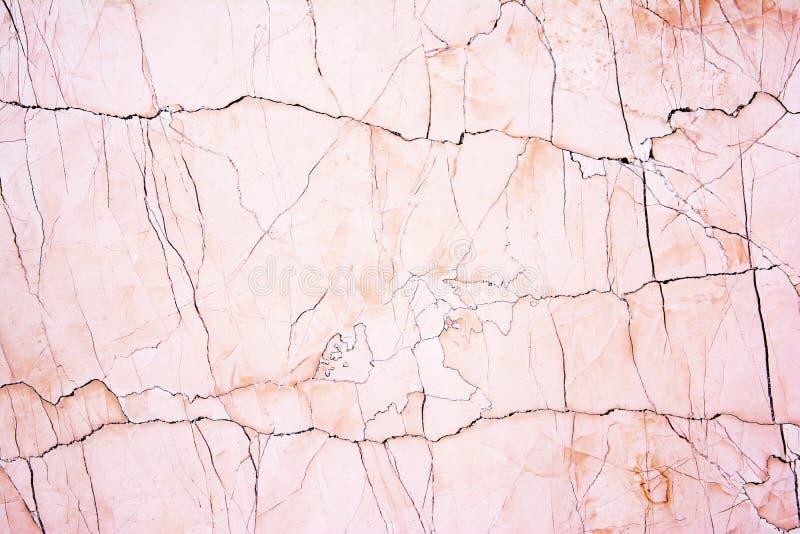 Fondo de m?rmol rosado del extracto de la textura del modelo Rosa y textura de m?rmol marr?n imagen de archivo