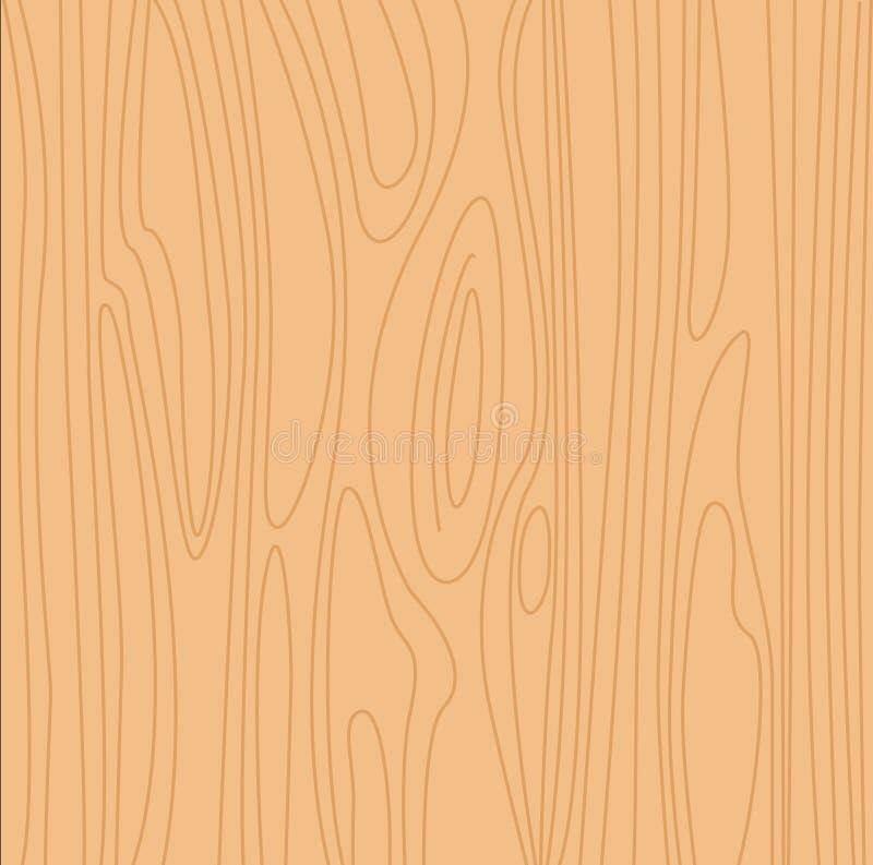 Fondo de madera amarillento natural libre illustration