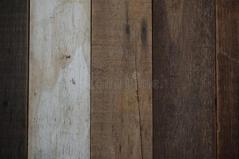 Fondo de madera antiguo natural de la textura del tablero fotos de archivo