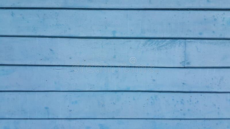 Fondo de madera azul abstracto imágenes de archivo libres de regalías