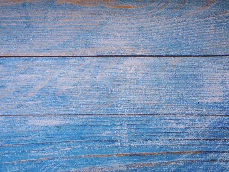 Fondo de madera azul de la textura del fondo imágenes de archivo libres de regalías
