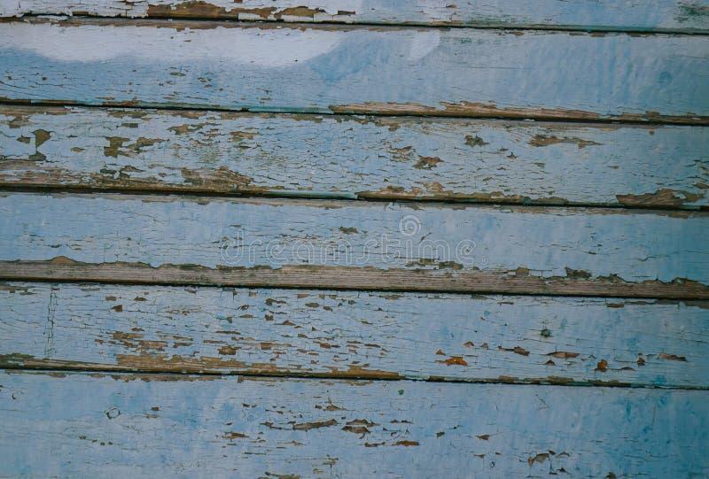 Fondo de madera azul de la textura que viene de ?rbol natural El panel de madera con los modelos hermosos Espacio para el trabajo imagenes de archivo