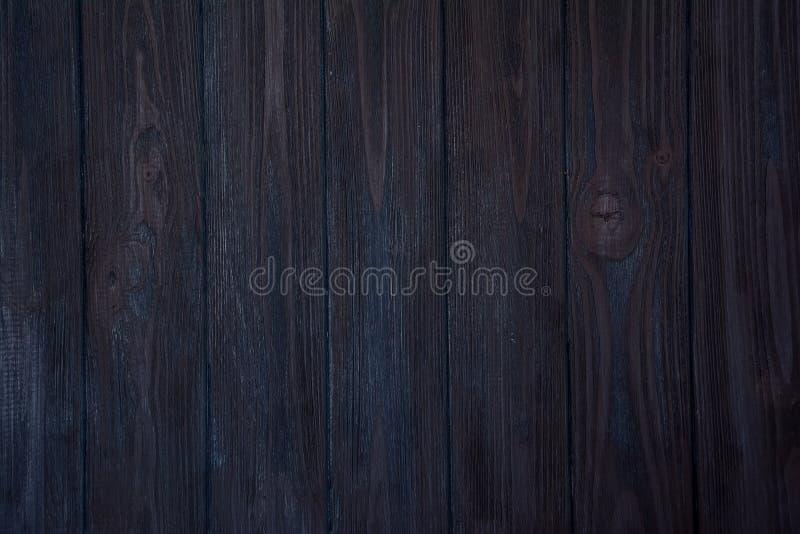Fondo de madera azul marino fotografía de archivo