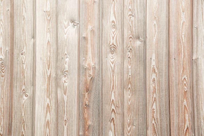 Fondo de madera beige de la textura del tablón imagen de archivo libre de regalías