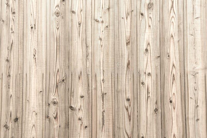 Fondo de madera beige de la textura del tablón foto de archivo libre de regalías