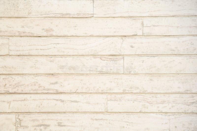Fondo de madera beige del modelo del tablón fotos de archivo