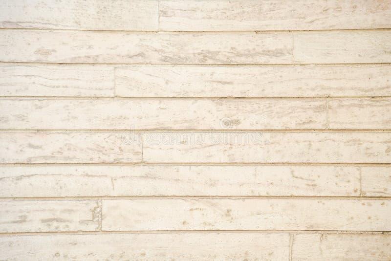 Fondo de madera beige del modelo del tablón imagen de archivo