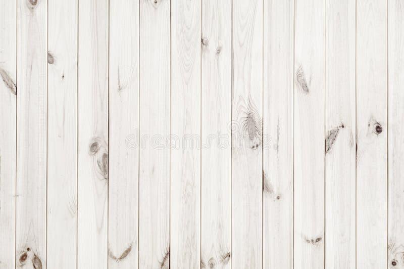 Fondo de madera blanco de la textura imagen de archivo libre de regalías