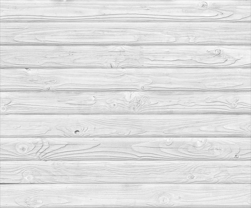 Fondo de madera blanco de los tablones fotos de archivo libres de regalías