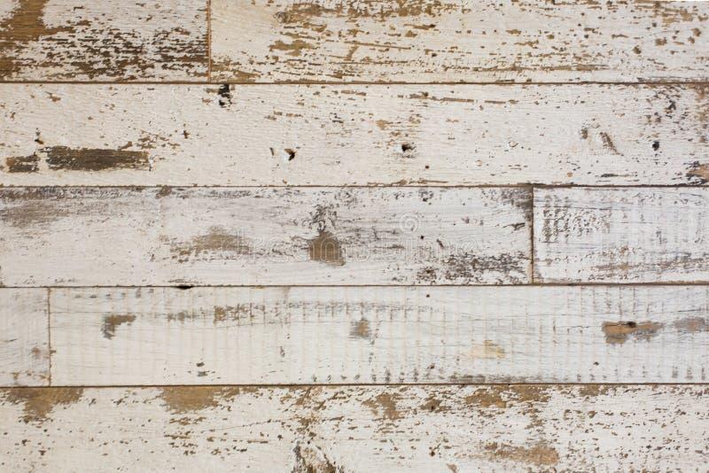 Fondo de madera blanco/gris de la textura con los modelos naturales Suelo imágenes de archivo libres de regalías