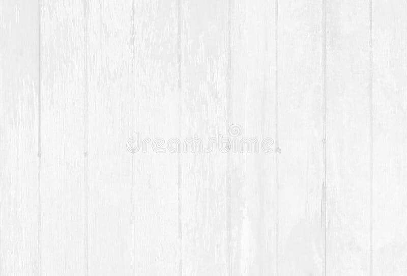 Fondo de madera blanco de la pared, textura de la madera de la corteza con el viejo modelo natural fotografía de archivo