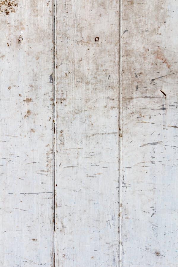 Fondo de madera blanco sucio fotos de archivo