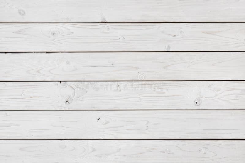 Fondo de madera blanqueado de la textura del extracto de la pared de los tablones fotografía de archivo libre de regalías