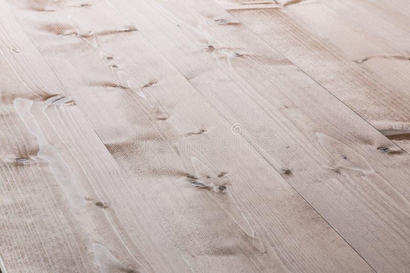 Fondo de madera blanqueado de los tablones stock de ilustración