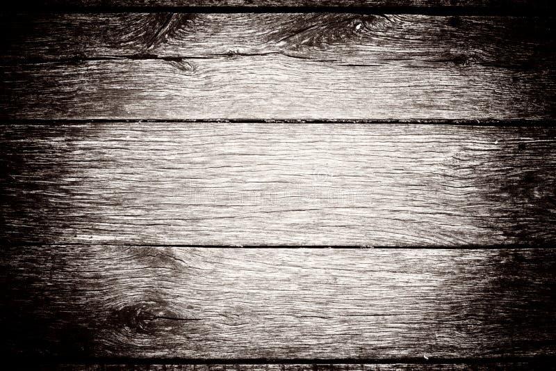 Fondo de madera blanqueado de los tablones con vietado Textura rústica ligera envejecida foto de archivo libre de regalías