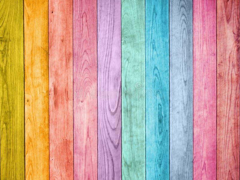 Fondo de madera coloreado foto de archivo libre de regalías