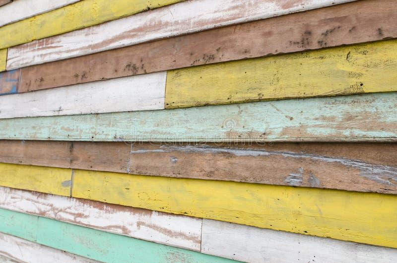 Fondo de madera de la textura ilustración del vector