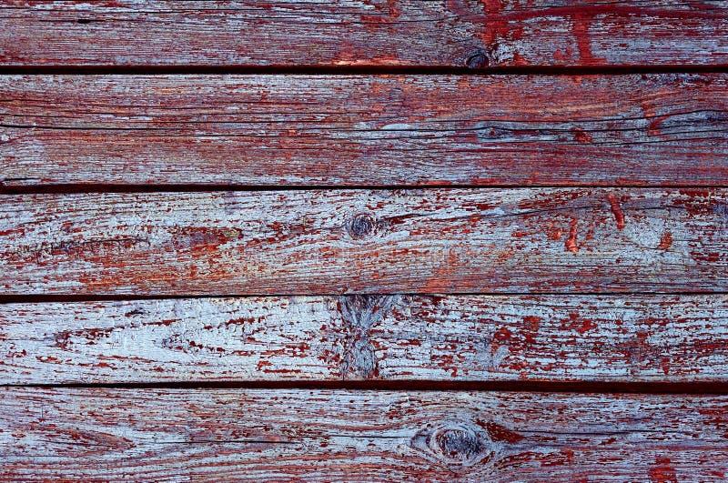 Fondo de madera de la textura con el modelo natural, color púrpura oscuro fotografía de archivo libre de regalías