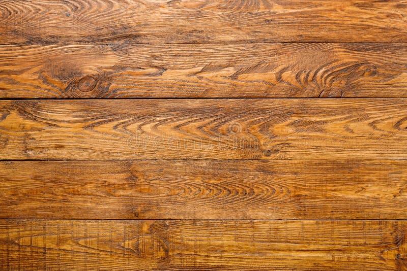 Fondo de madera de la textura del marrón del tablón imágenes de archivo libres de regalías