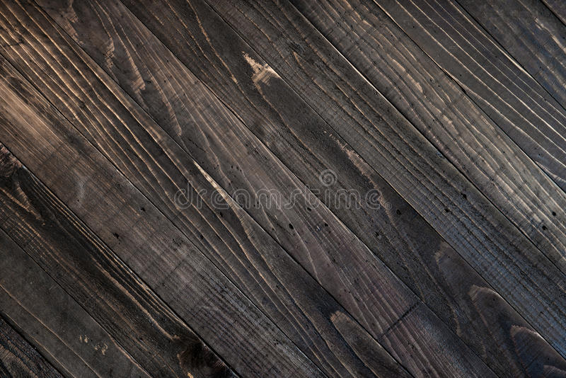 Fondo de madera de la textura del marrón oscuro fotos de archivo libres de regalías