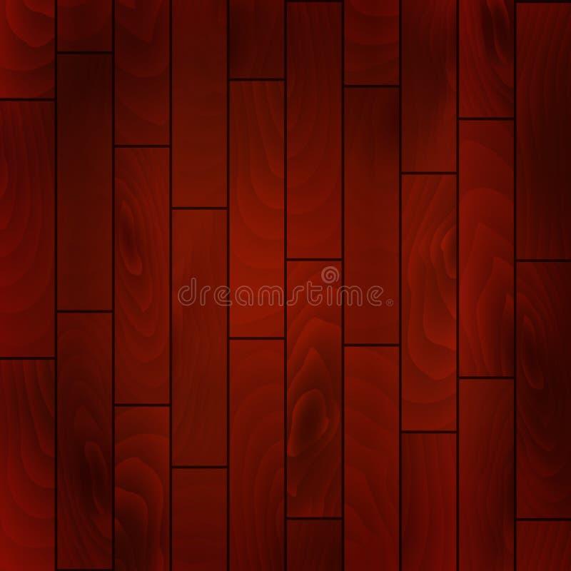 Fondo de madera de la textura del vector ilustración del vector