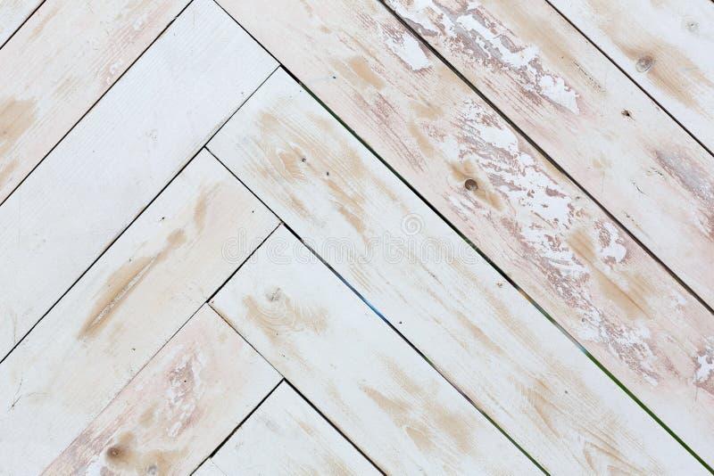 Fondo de madera de la textura, entarimado pintado sucio foto de archivo libre de regalías