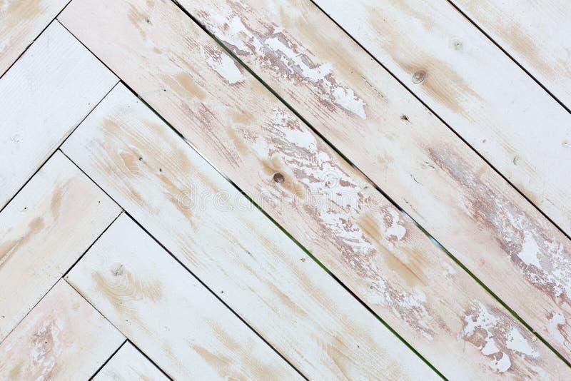 Fondo de madera de la textura, entarimado pintado sucio fotos de archivo libres de regalías