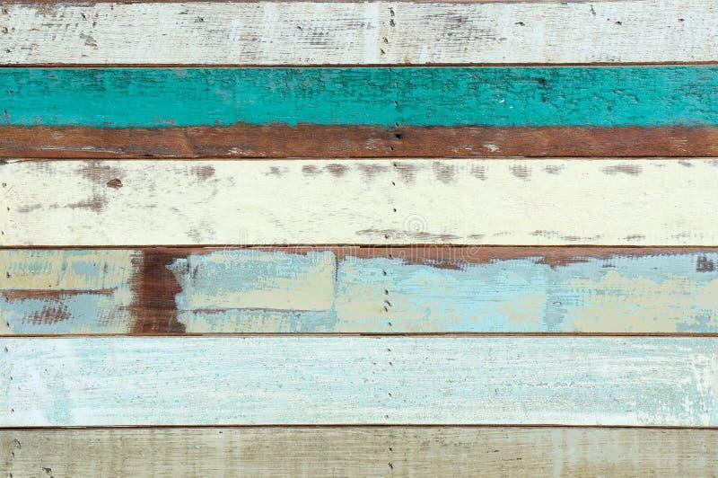 Barcas de madera de la vendimia