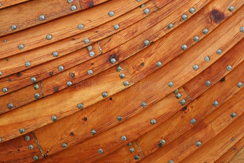 Fondo de madera del barco fotografía de archivo