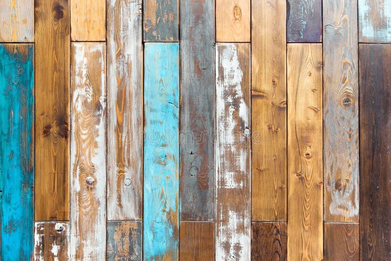 Fondo de madera del color del vintage foto de archivo libre de regalías