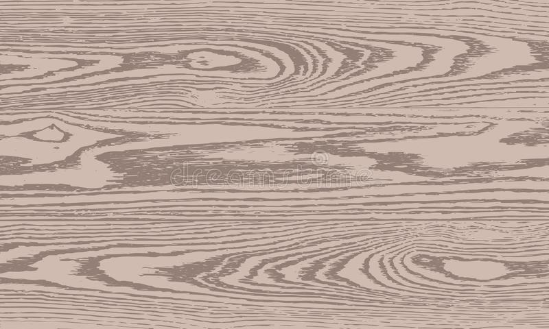 Fondo de madera del marr?n de la textura De madera seco libre illustration