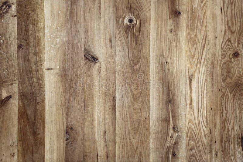 Fondo de madera del tablón con textura fina de la viruta imagen de archivo